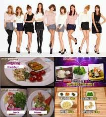 Menu Diet Artis Korea Selatan