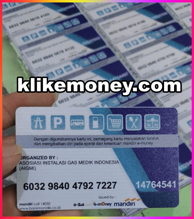 Emoney Custom Murah