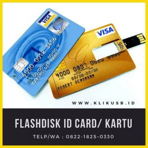 Flashdisk Kartu Custom Logo